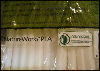 "New ""bioplastics"" are labeled ""compostable"" but require industrial composting processes."